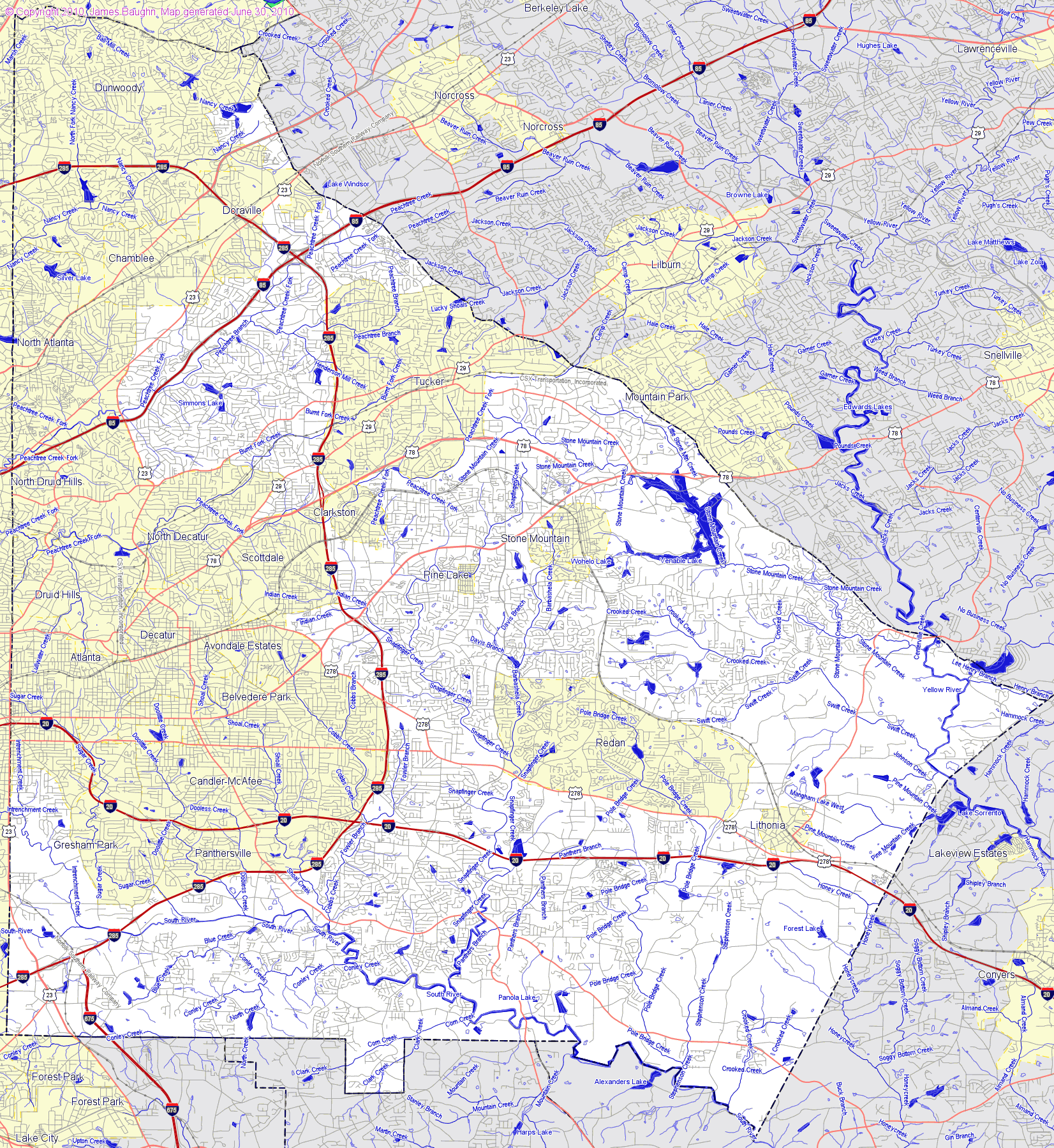 County Map Of Georgia With Roads.Georgia Road Map Georgia State Highway Road Map Georgia Road Map