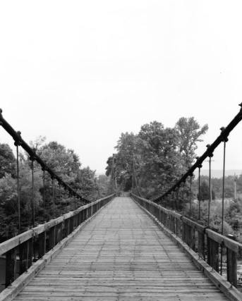 Swinging bridge heber springs