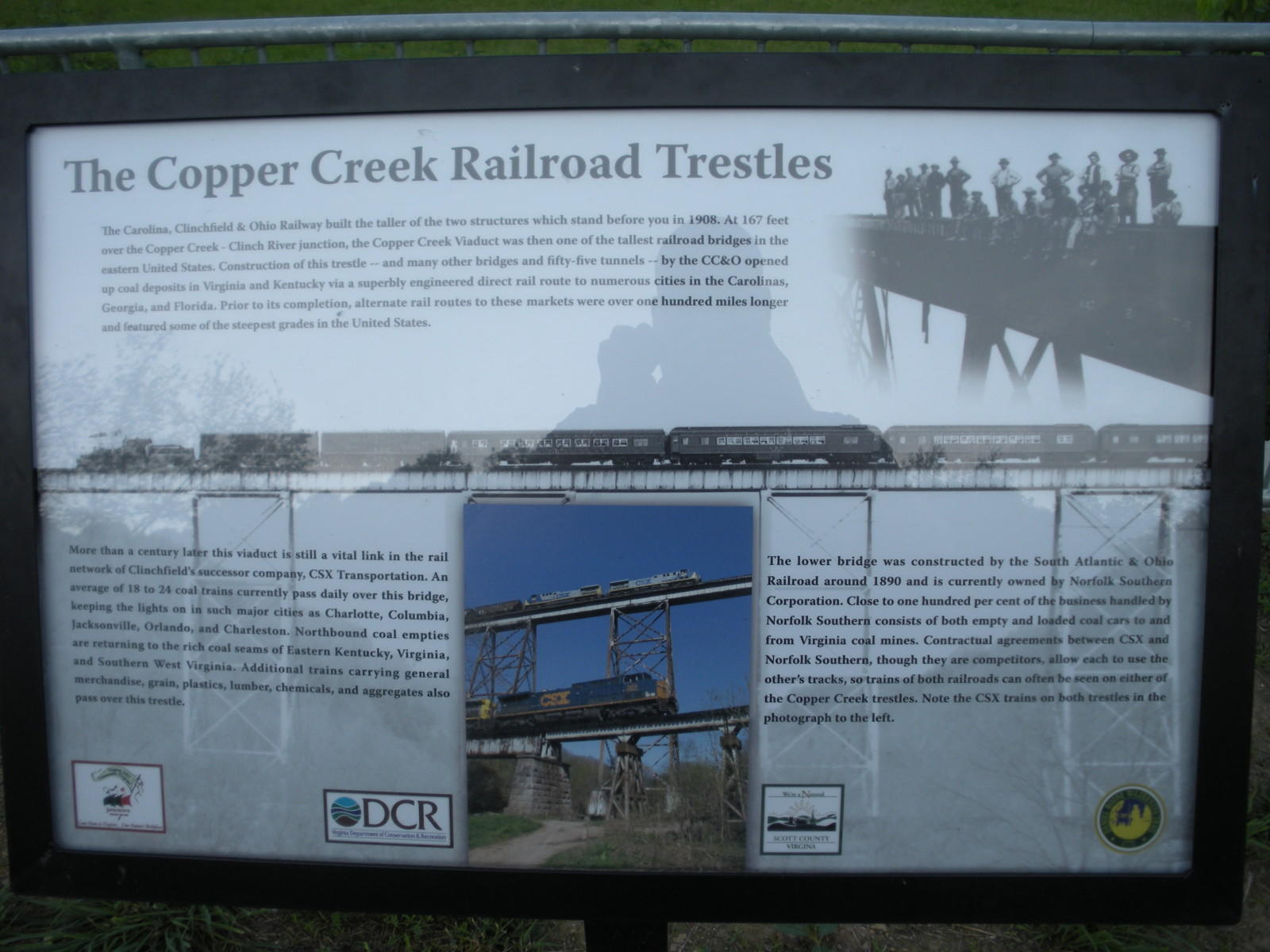Bridgehunter com | CSX - Copper Creek Viaduct