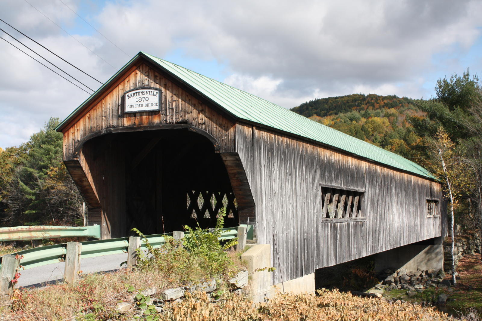 Bridgehunter Com Bartonsville Covered Bridge X