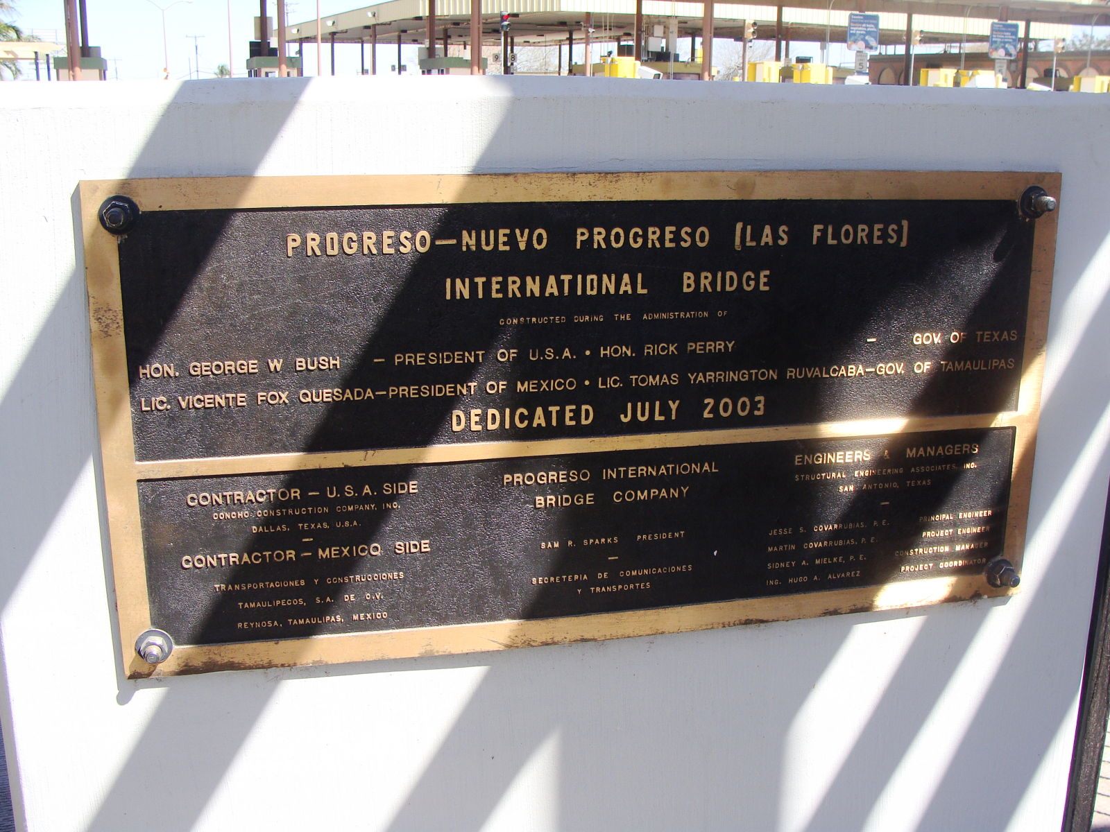 Bridgehunter com | Progreso-Nuevo Progreso International Bridge