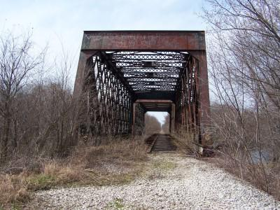 Tippecanoe River bridge