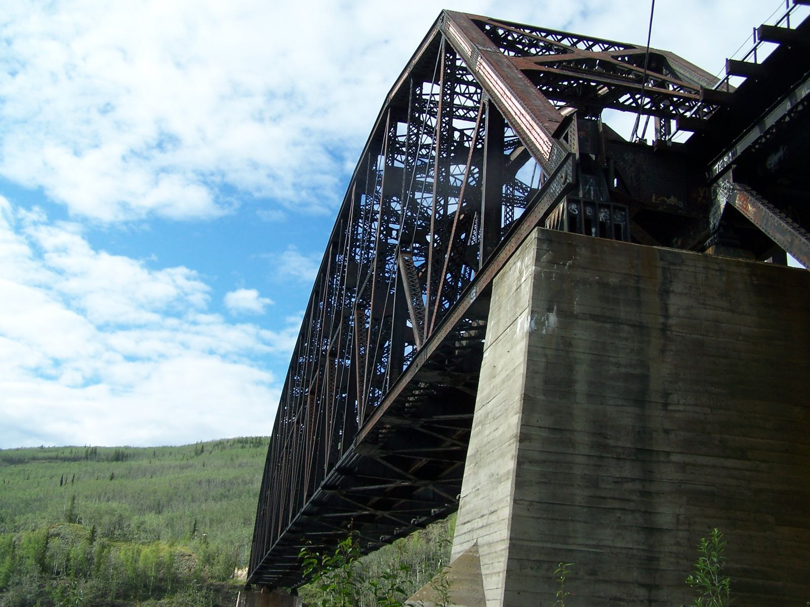 Bridgehuntercom Alaska Mears Memorial Bridge