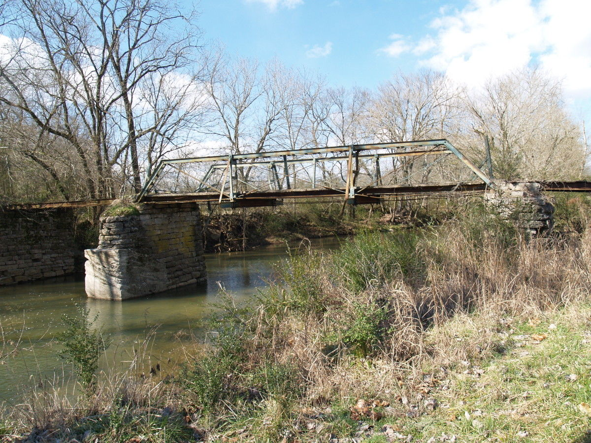 Bridgehunter Com Old Hughey Road Bridge