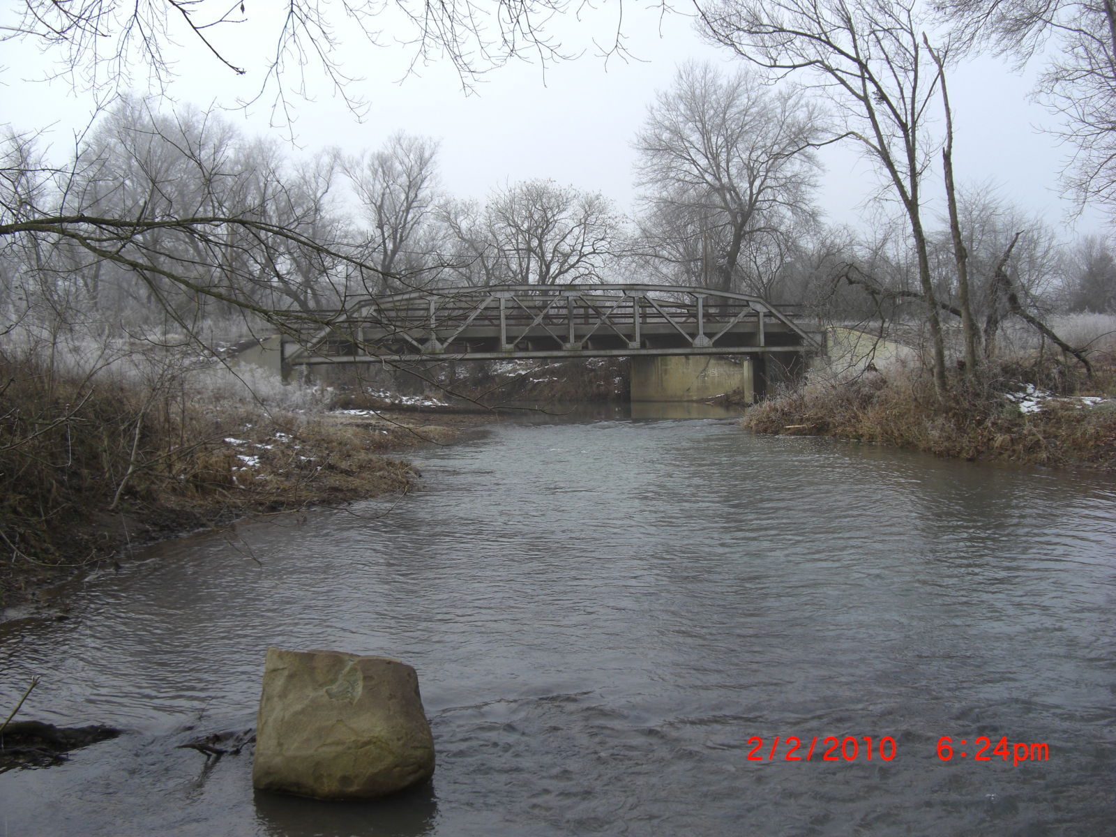 Little shoal creek bridge for Shoal creek