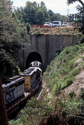 Bridgehunter Com Csx Tunnel