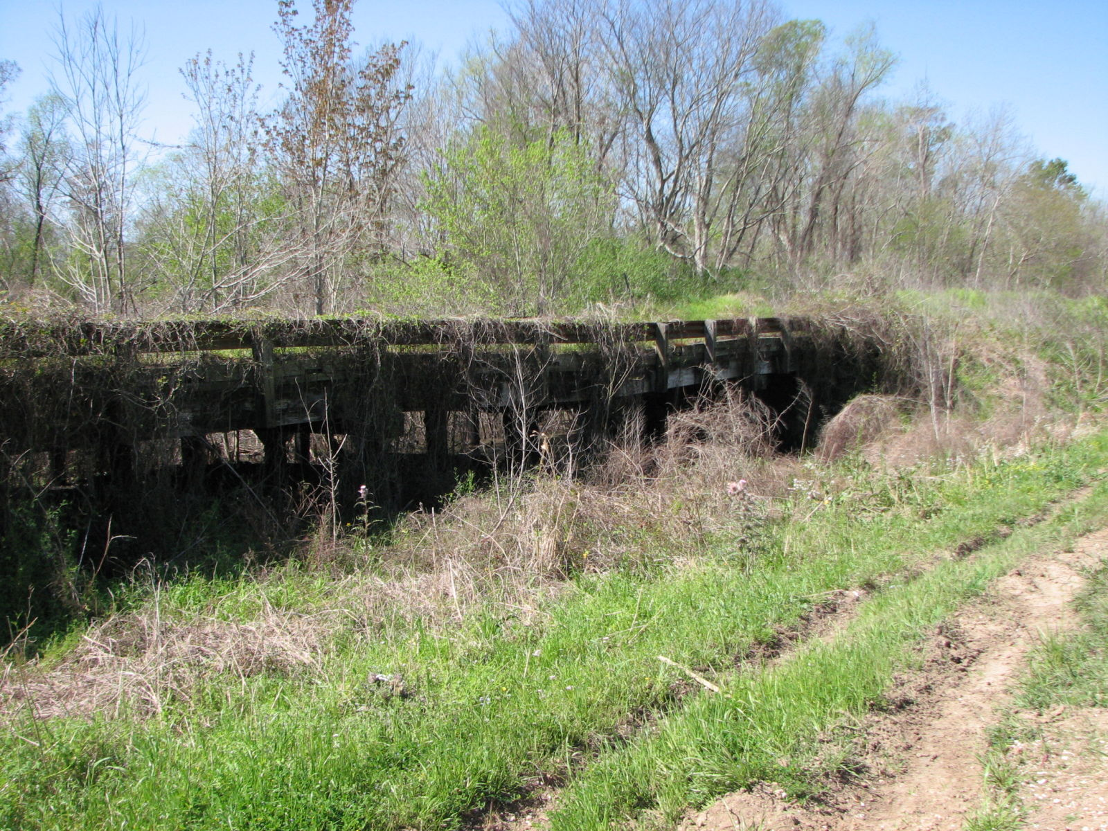 Branch Of Little State Canal Bridge