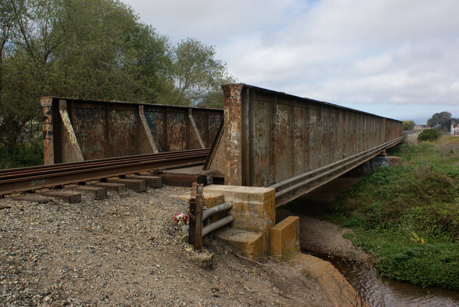Bridgehunter Com Up Arroyo Grande Creek Bridge