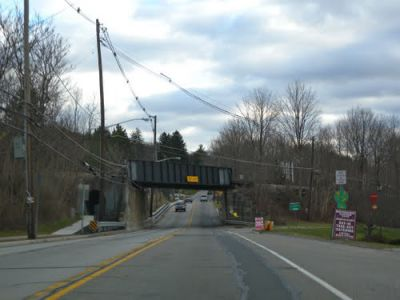 Bridgehunter Com Nysw Hamburg Turnpike Route 23 Overpass