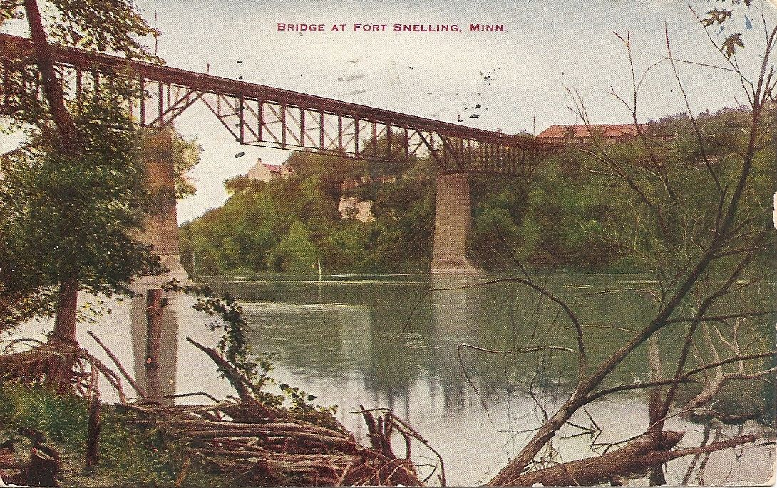 Bridgehunter Com Fort Snelling Bridge 1st