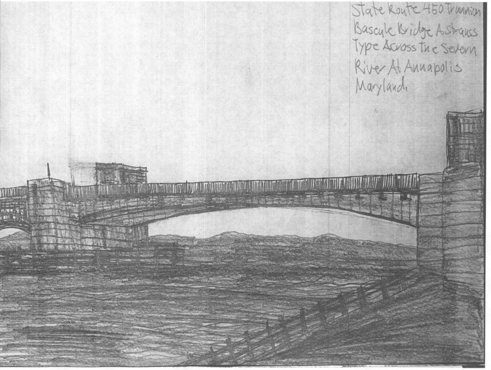 Old united states naval academy bridge for James river bridge fishing pier