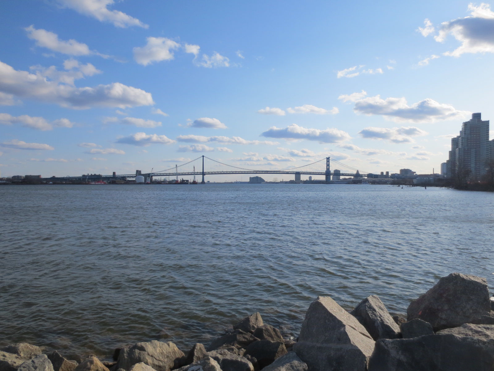 com benjamin franklin bridge