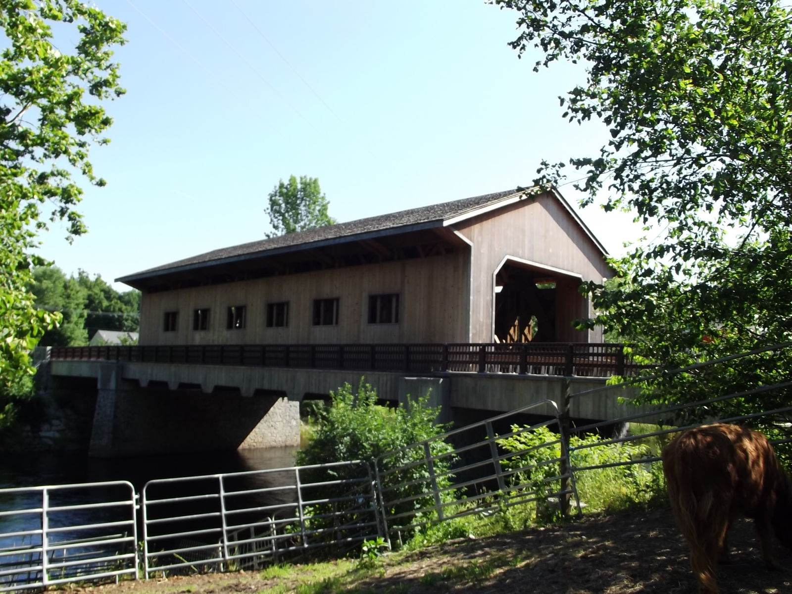 Pepperell Covered Bridge and Overlook (With images