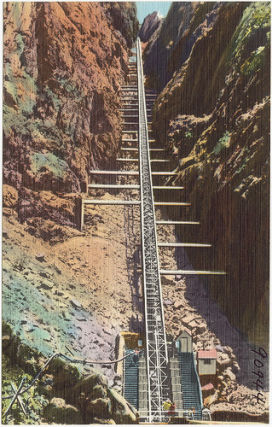 Bridgehunter Com Royal Gorge Incline Railway