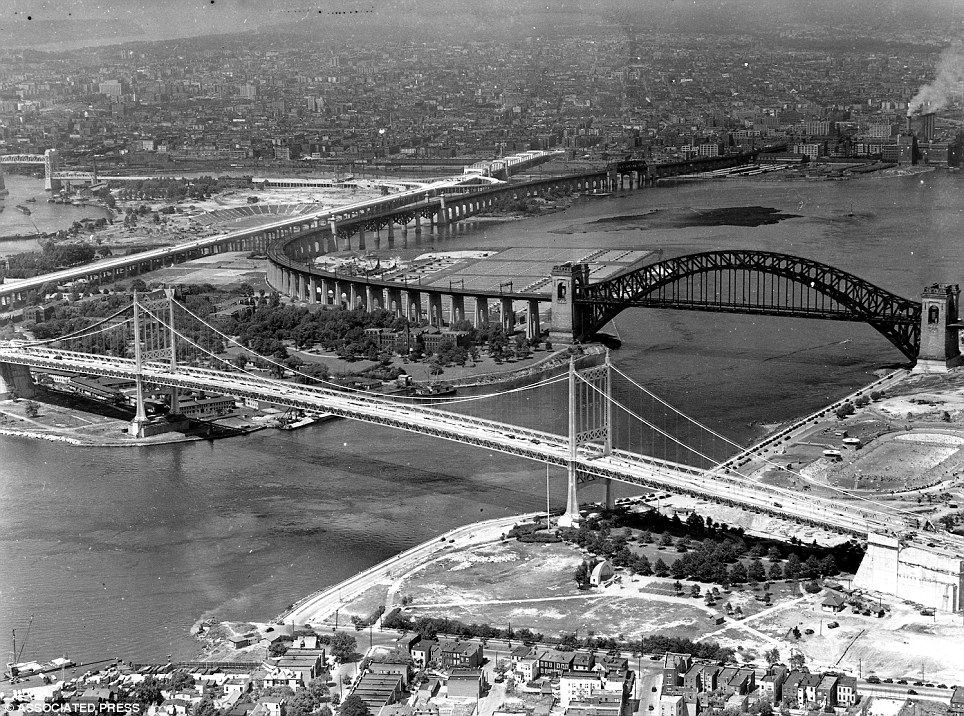Bridgehuntercom Triborough Hell Gate Suspension Bridge