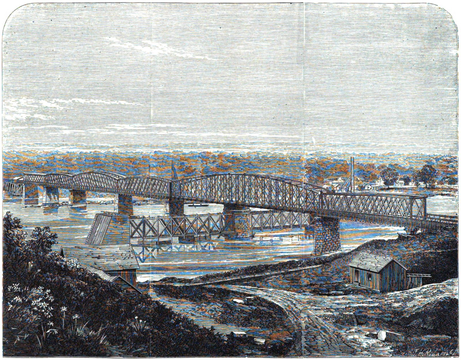 Bridgehunter Com First Hannibal Bridge