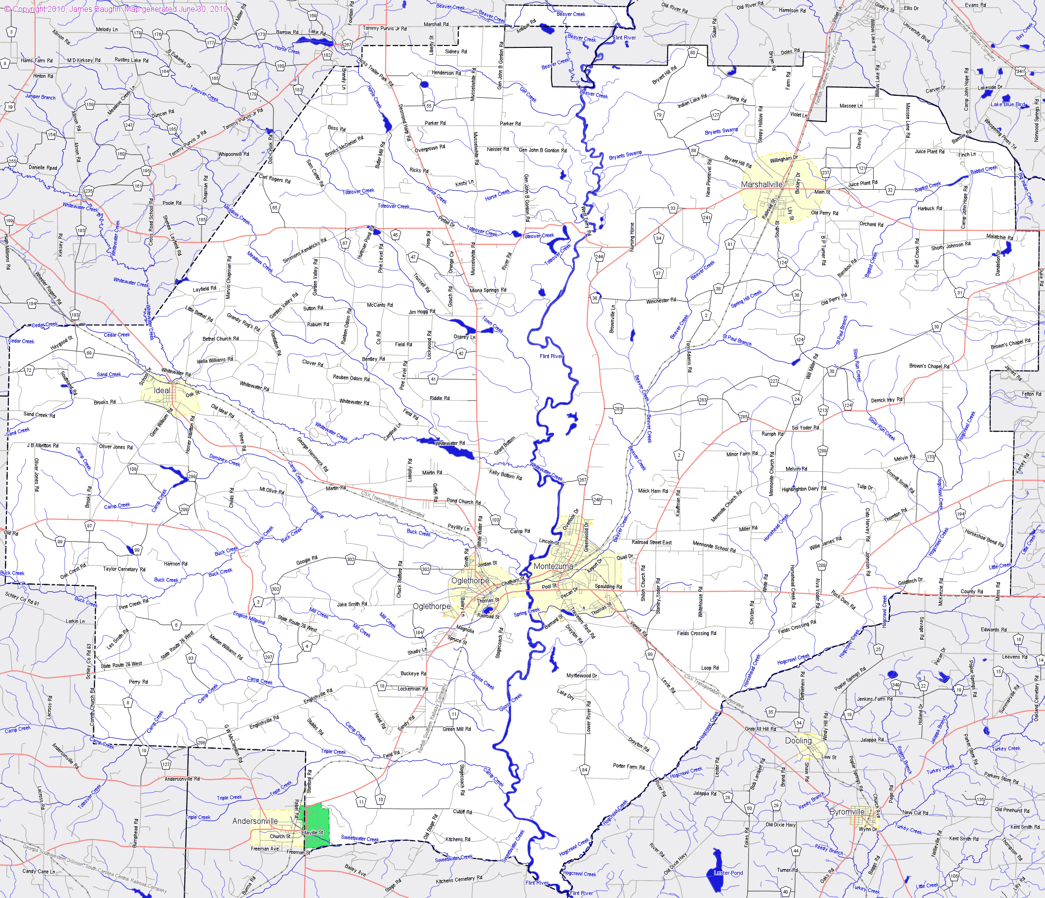 Bridgehuntercom Macon County Georgia - Georgia map macon