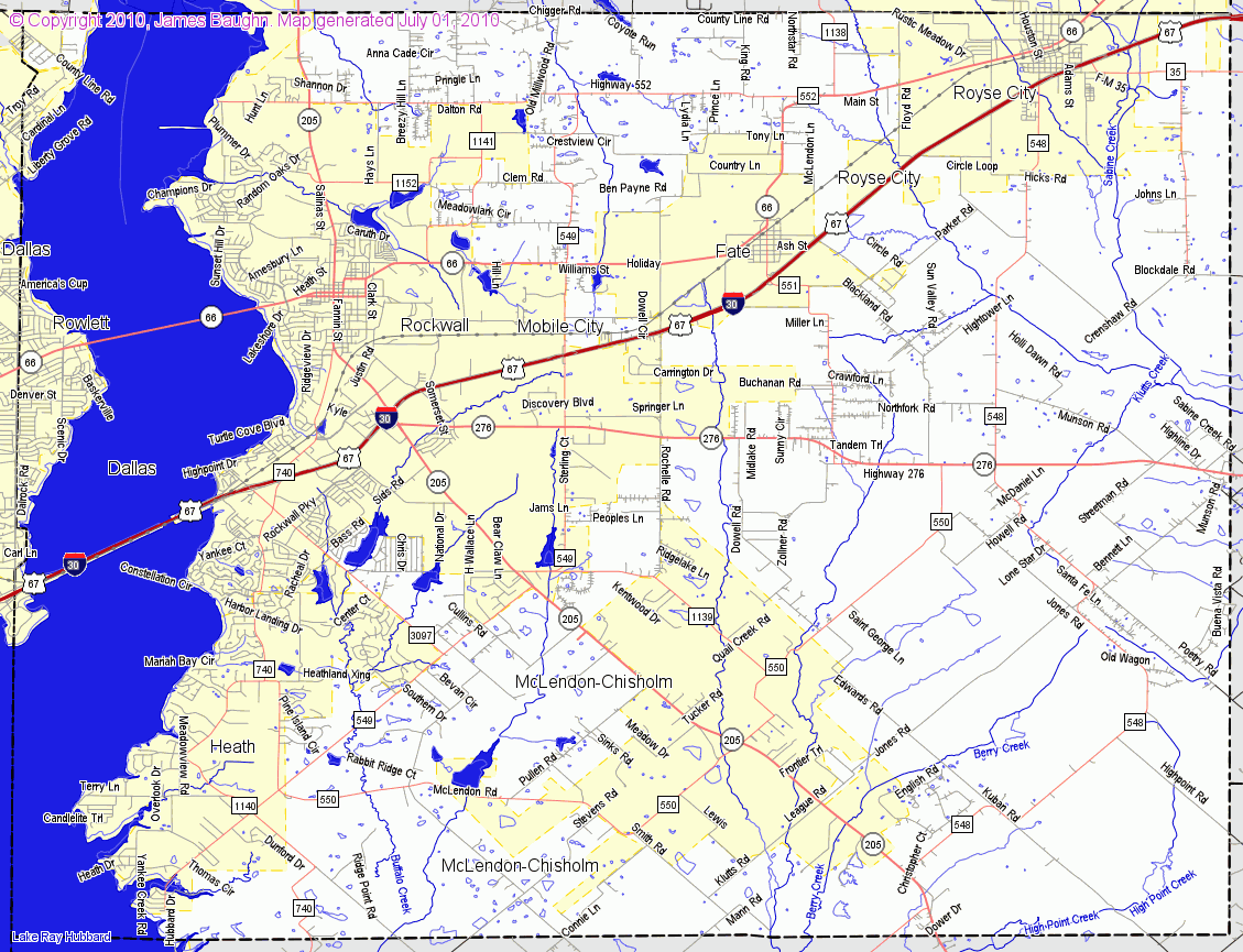 Rhode Island South County Map
