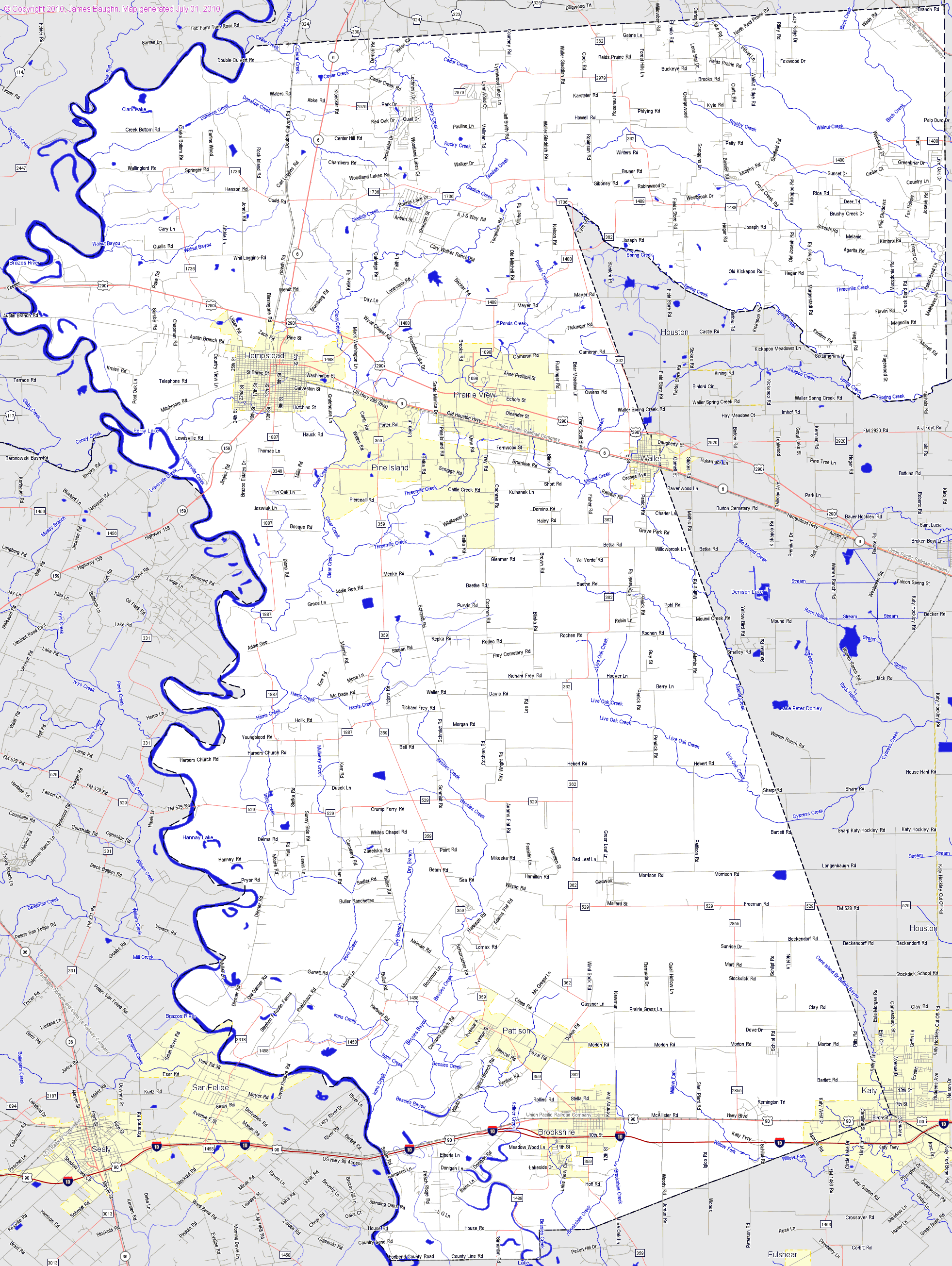 map of fort bend county with Big Map on Lubbock zipcodes further Statecountymap together with Providence Canyon State Park additionally Indiana Map further 2013 Metros Houston Tx.