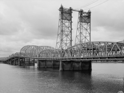 Bridgehunter com | I-5 - Interstate Bridge (Northbound)
