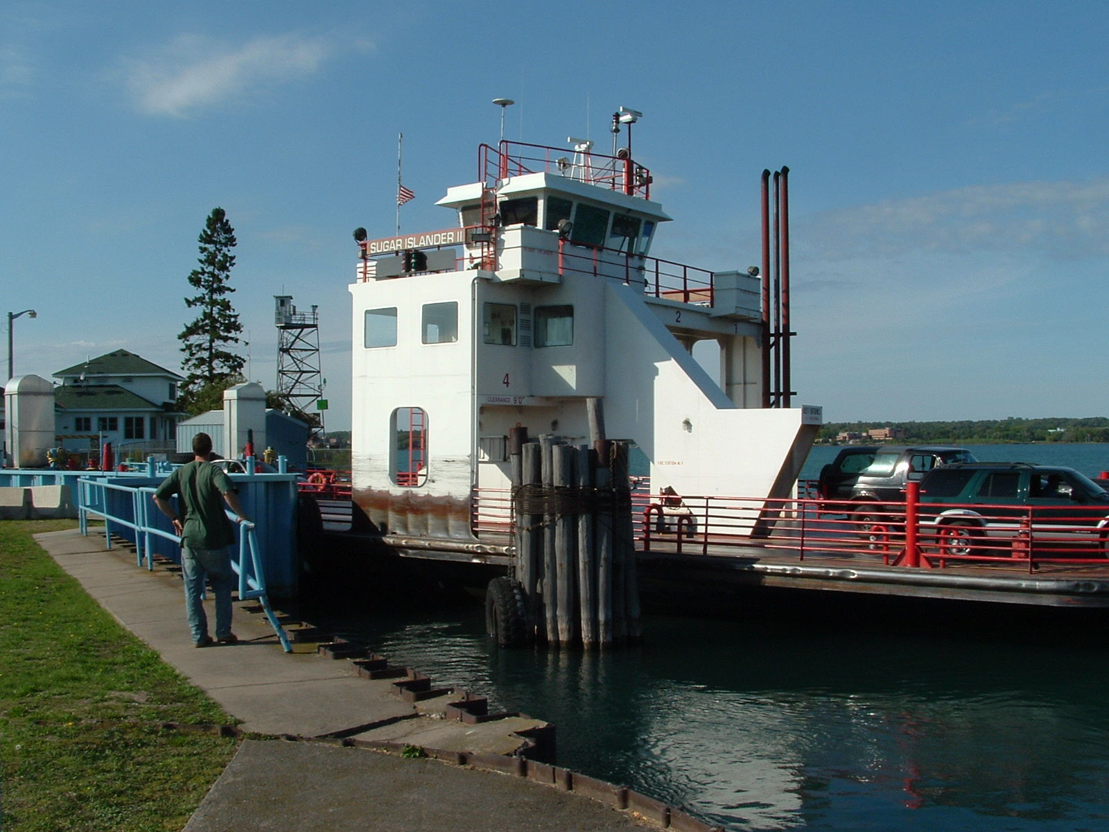 Sugar Island Ferry Michigan