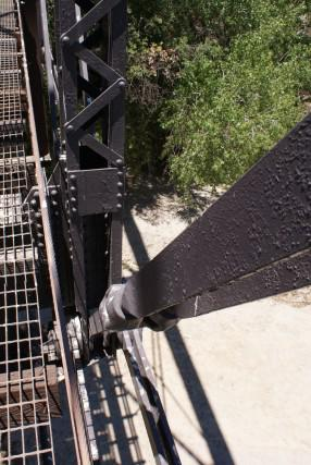 Bridgehunter com | Iron Horse Trailhead - Santa Clara River Bridge