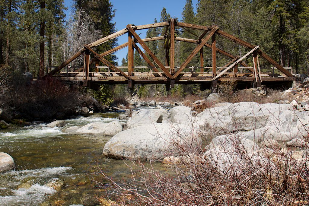 Wooden Creek Bridge