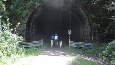 Bridgehuntercom Allegheny River Trail Kennerdell Tunnel