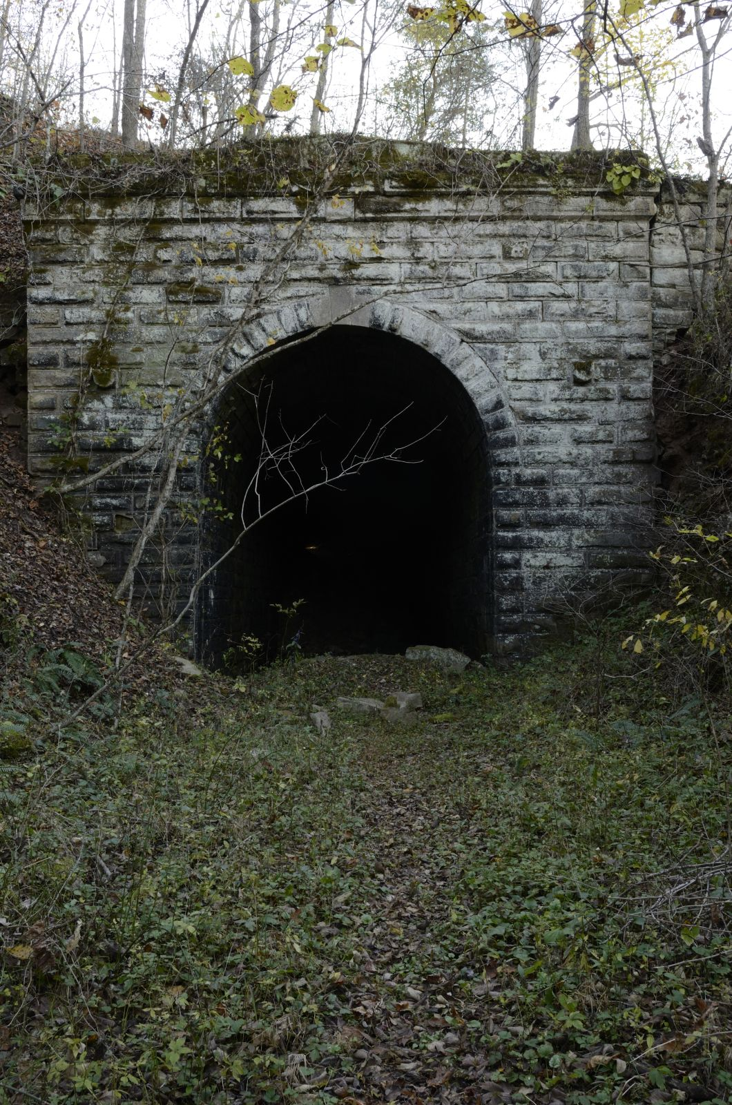 Bridgehunter Com North Bend Rail Trail Tunnel 22